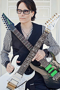 Steve Vai en Master Class à Nancy au Music Academy International (Mai)